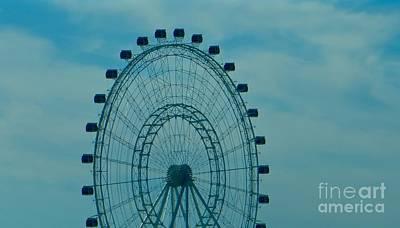 Ferris Wheel Fun Poster