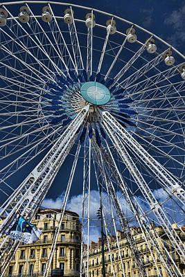 Ferris Wheel Poster by Hugh Smith