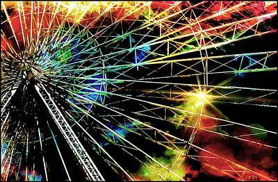 Ferris Wheel, Grand Roue Poster