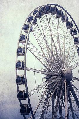 Ferris Wheel Poster by Joana Kruse