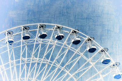 Wonder Wheel Series 1 Blue Poster