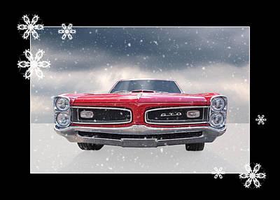 Festive Pontiac Gto Poster