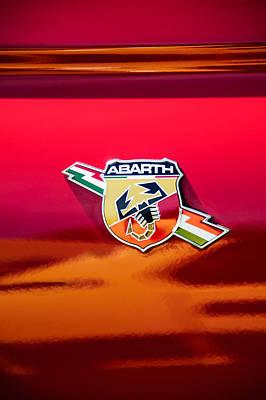 Fiat Abarth Emblem -ck1611c Poster