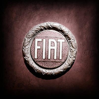 Fiat Emblem -1621ac Poster