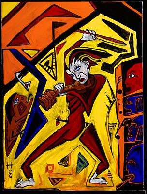 Fiddler 40x30 Poster