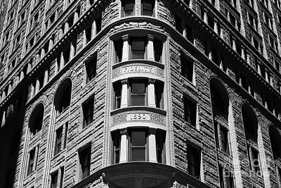 Fidelity Building Detail Baltimore Poster