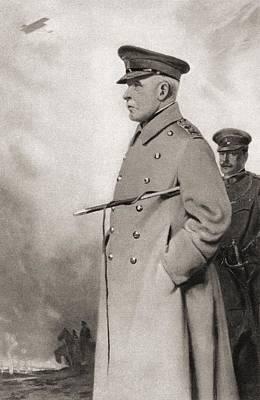Field Marshal John Denton Pinkstone Poster by Vintage Design Pics