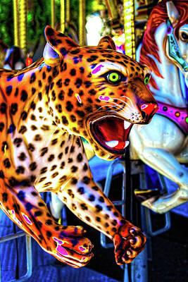 Fierce Cheetah Poster