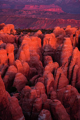 Poster featuring the photograph Fiery Furnace by Dustin LeFevre