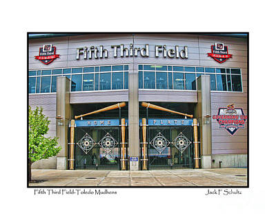Fifth Third Field Toledo Mudhens Poster