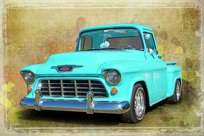 Fifty5 Stepside Poster by Keith Hawley
