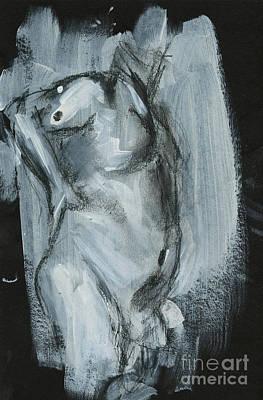 Figure Study Poster by Edward Fielding