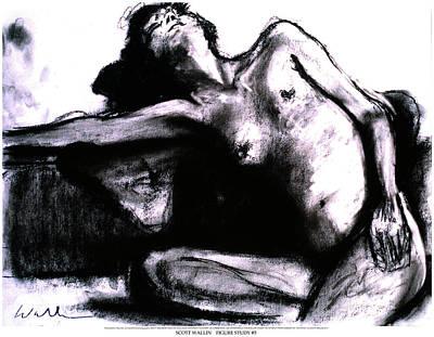 Figure Study Five Poster by Scott Wallin