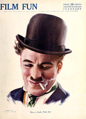 Film Fun Magazine Featuring Charlie Chaplin 1916 Poster by R Muirhead Art