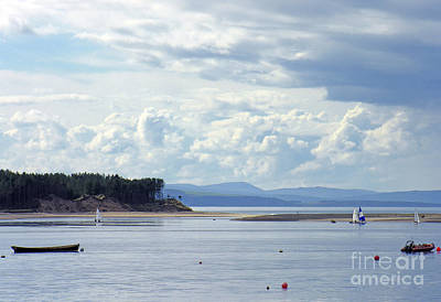 Findhorn Bay - Moray Firth Poster