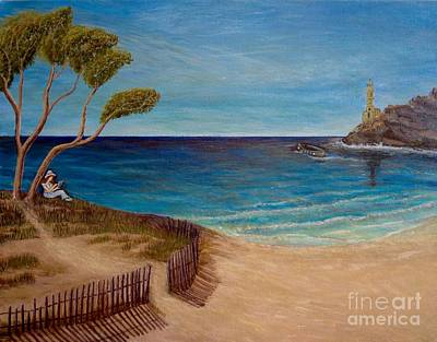 Finding My Special Place In The Summertime  Poster by Kimberlee Baxter