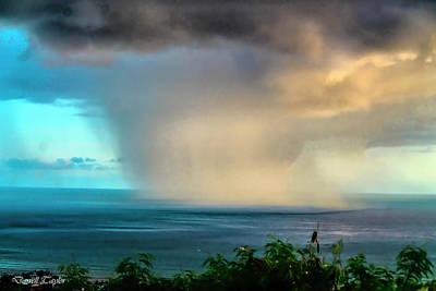 Fine Art America Pic 150 Storm In Kauai Poster by Darrell Taylor