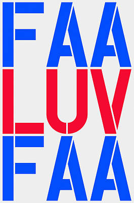 Fineartamerica Luv Poster by Three Dots