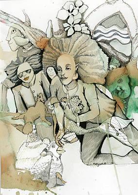Finishing Line Poster by Maryam Hashemi