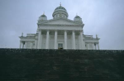 Finland, Helsinki, Helsinki Cathedral Poster by Keenpress