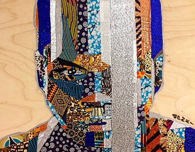 Poster featuring the tapestry - textile Finn Star Wars Awakens Afrofuturist  by Apanaki Temitayo M