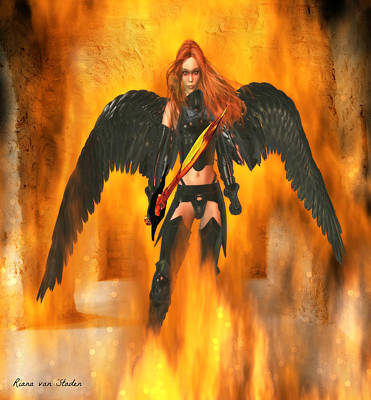 Fire Angel  Poster