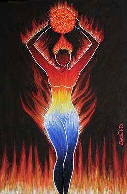 Fire - Element Poster