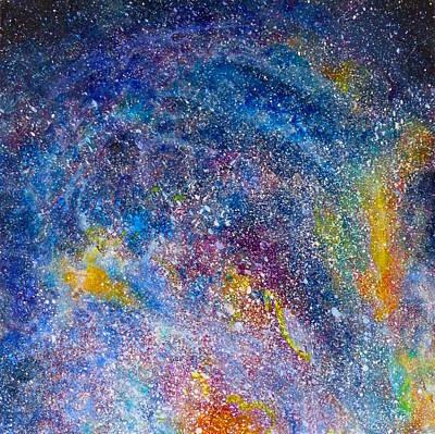 Fire Nebula #4 Poster