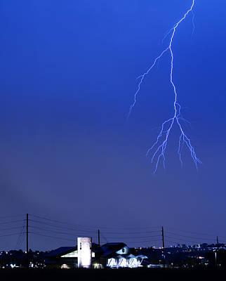 Fire Rescue Station 67  Lightning Thunderstorm 2c Poster
