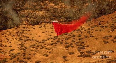 Fire Retardant Poster by Robert Bales