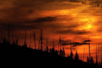 Fire Sky Poster