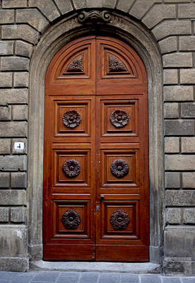 Firenze Door Poster by Ivete Basso Photography