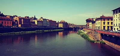 Poster featuring the photograph Firenze by Joseph Westrupp