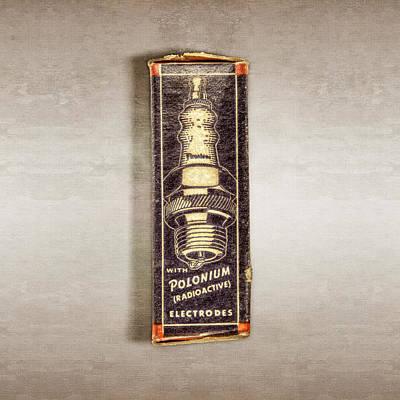 Firestone Polonium Electrodes Box Poster