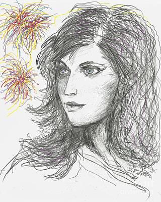 Firework Poster by Denise Fulmer