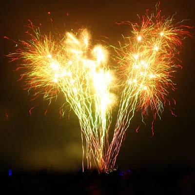Fireworks 2 Poster by Oliver Johnston