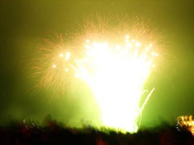 Fireworks 3 Poster by Oliver Johnston