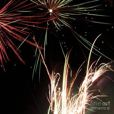 Fireworks 5 Poster by Balanced Art