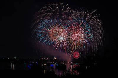 Fireworks Poster by Lisa Fitzthum