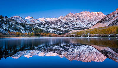 First Light Over North Lake - Fall Colors Photograph Poster