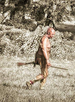 First Walker  Poster by Steven Digman