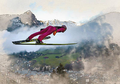 Fis Ski Jumping World Cup  Poster