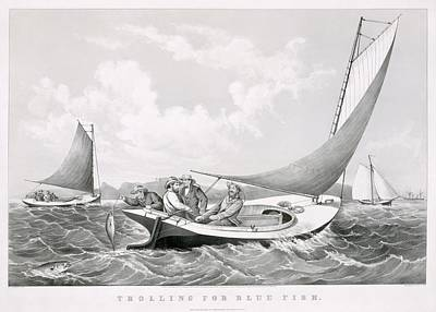 Fischer Fishing Poster
