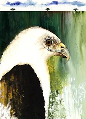 Fish Eagle Poster