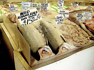Fish Market Poster