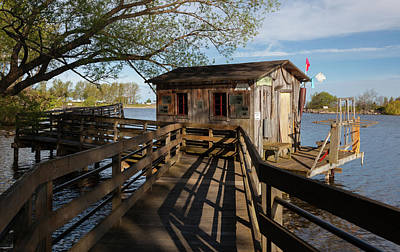 Poster featuring the photograph Fish Shack by Fran Riley