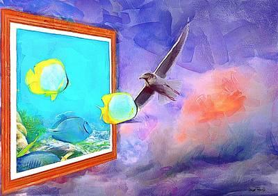 Fish Wish Poster by Wayne Pascall