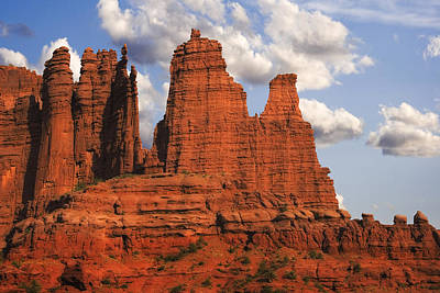 Fisher Towers Poster by Utah Images