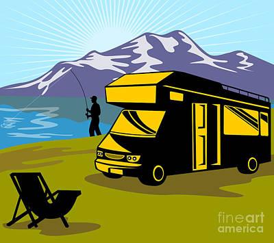 Fisherman Caravan Poster by Aloysius Patrimonio