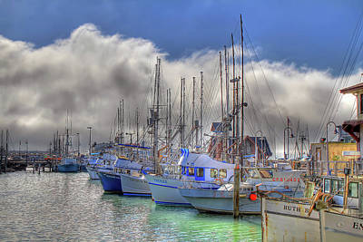 Poster featuring the photograph Fisherman's Wharf by Donna Kennedy